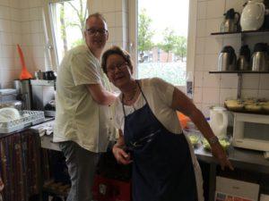 Duo in de keuken